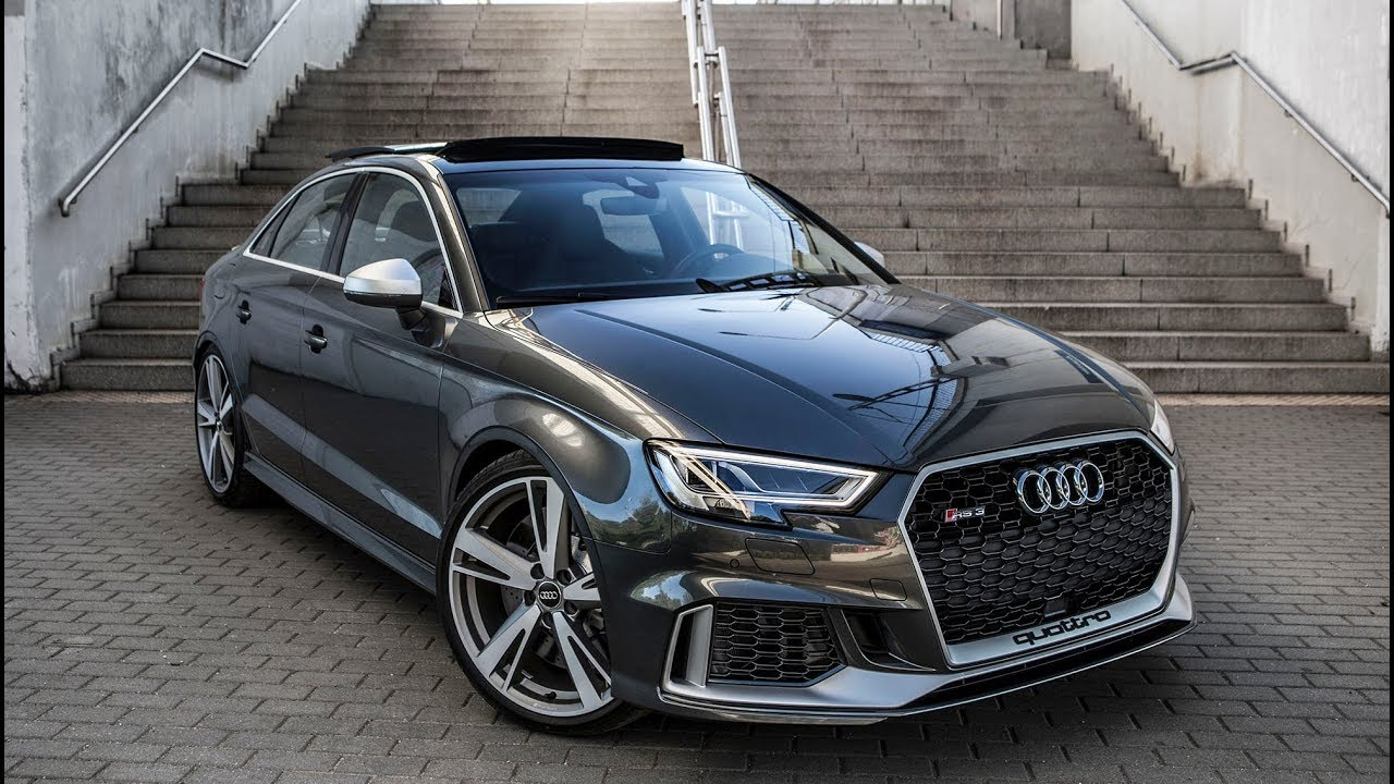 finally 2018 400hp audi rs3 sedan 5cyl turbo shape we 39 ve been waiting for youtube. Black Bedroom Furniture Sets. Home Design Ideas