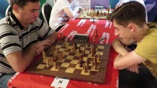 GM Rychagov - GM Dubov Moscow Chess Blitz