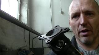 Renault Duster,бюджетный ремонт кардана.Renault Duster repair of propeller shaft.