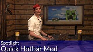 Spotlight: Minecraft Quick Hotbar Mod