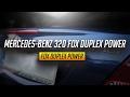 Mercedes-benz clk 320 w209 FOX duplex quad exhaust sound