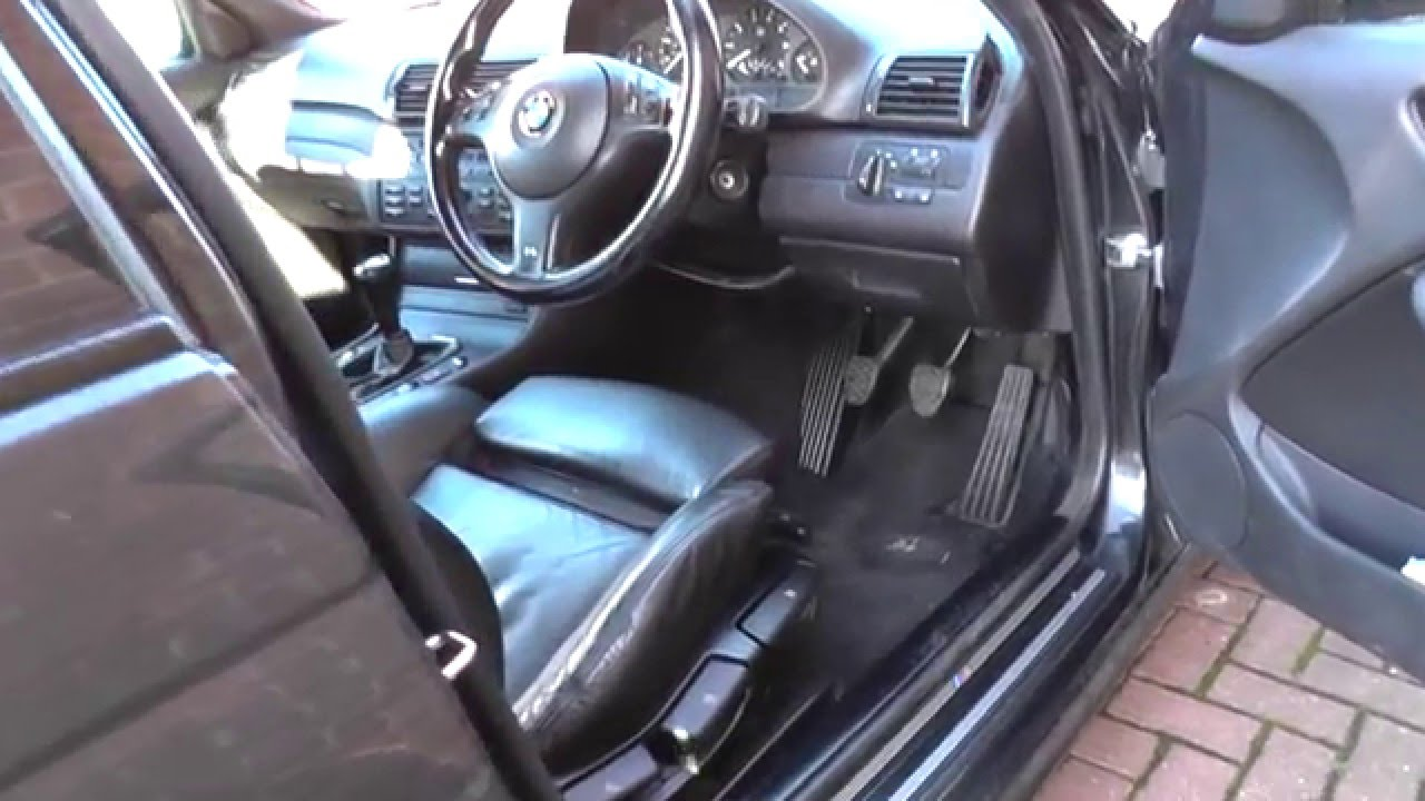bmw e46 3 series obd2 diagnostic port location youtube. Black Bedroom Furniture Sets. Home Design Ideas
