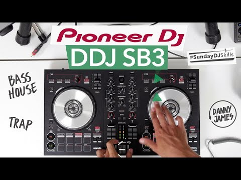 Pioneer DDJ SB3 - Bass House vs Trap Mix - #SundayDJSkills
