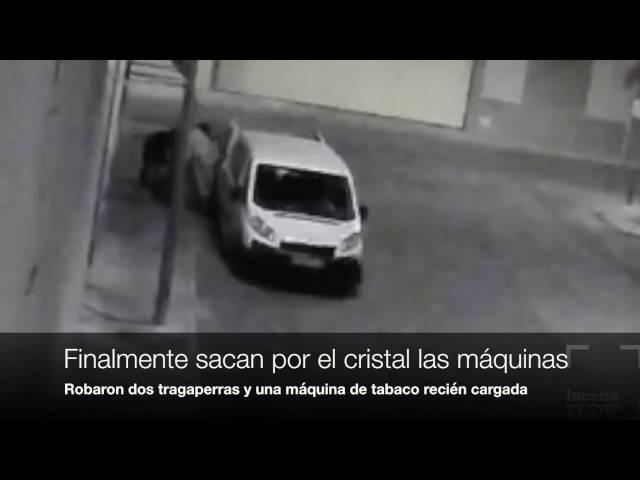 Vídeo noticia: Una cámara de seguridad recoge la secuencia del robo en el Bar La Molina