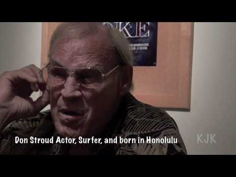 Don Stroud's First Surfboard