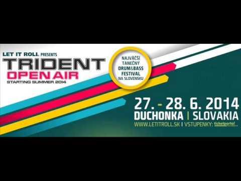 Dj Funky-TRIDENT open air  Duchonka 2014...