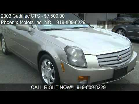 2003 Cadillac Cts Base For Sale In Raleigh Nc 27610