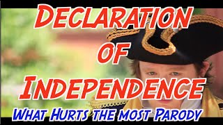 Declaration of Independence Song (What Hurts the Most Parody)