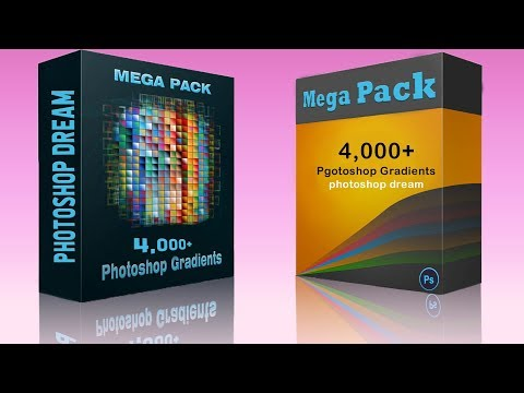 4,000+ Free Photoshop Gradients Pack For Designers | Photoshop Dream