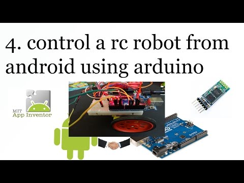 4. Android RC control Robot using Arduino