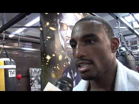 J'Leon Love interview and media workout