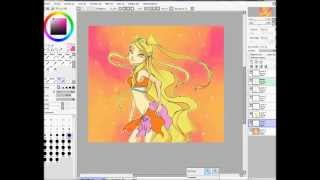 Speed drawing - Stella sketch