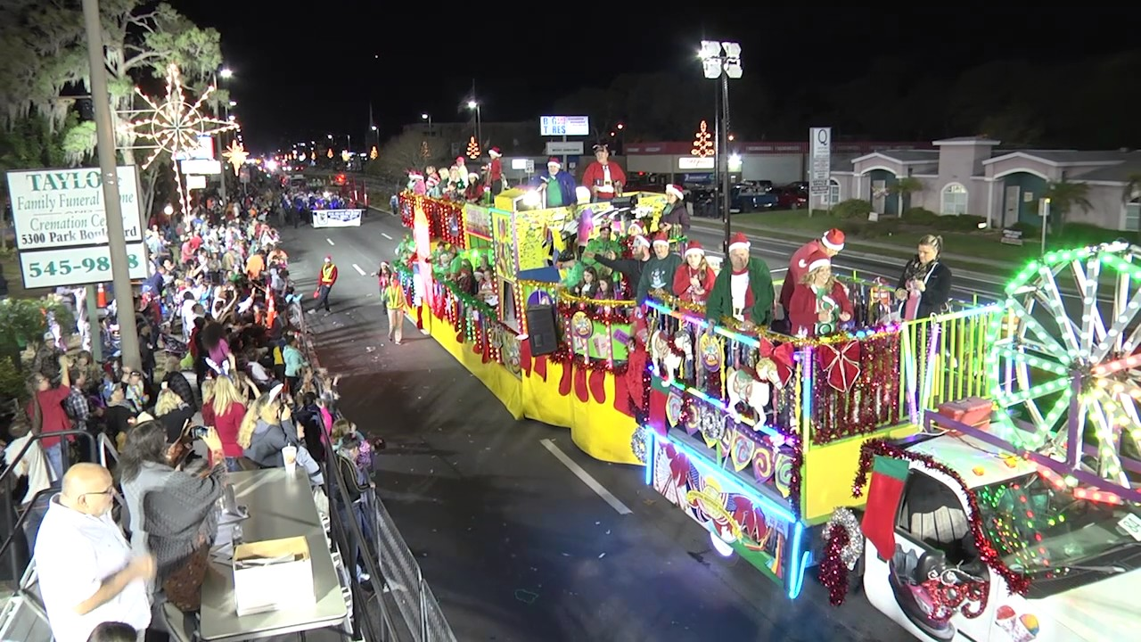 Pinellas Park Christmas Parade 2020 Pinellas Park Christmas Parade 2016   Highlights   YouTube