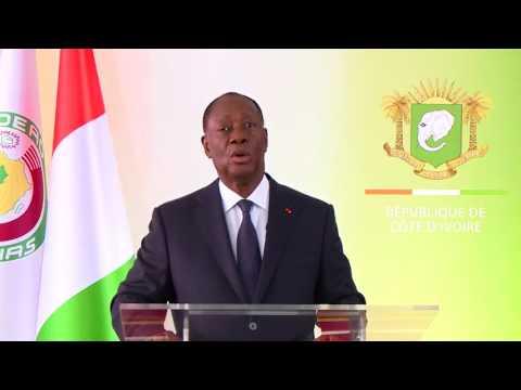An 57 : Message à la Nation du Président Alassane OUATTARA