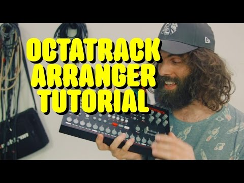 Octatrack Arranger Tutorial - how to structure a song