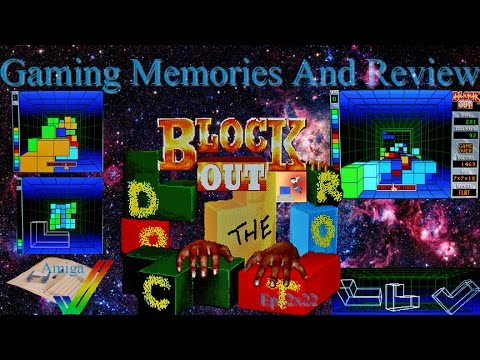 Block Out - Amiga - Gaming Memories And Review