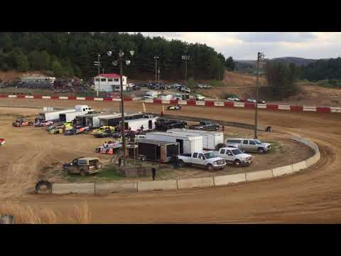 4-28-2018 Princeton Speedway Hot Laps Qualifying and Heat Race