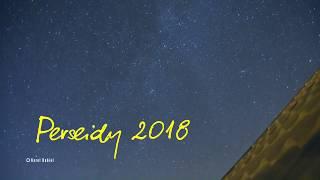 Perseidy 2018 - noc spadających gwiazd