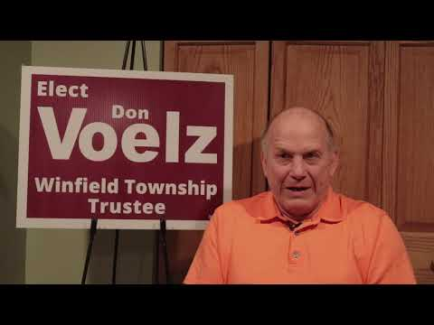 Don Voelz (R) - Candidate for Winfield Township Trustee