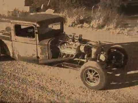 Rust And Dust. Rat Rod Truck.