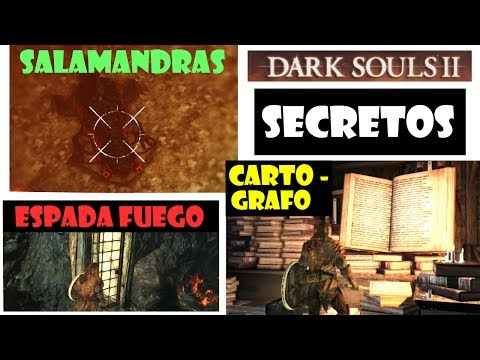 Dark Souls 2 guia: SECRETOS DEL BOSQUE DE GIGANTES!! Espada de fuego, foso de salamandras... Ep.11