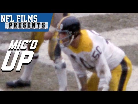 The First Mic'd Up Player In Football History | NFL Films Presents