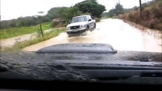 Enchente no Poço Grande em Guaramirim/SC
