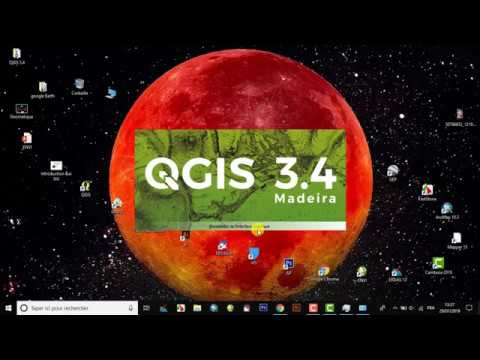 QGIS 3 QGIS 3.4.4 'Madeira' Free  (Version 2019)
