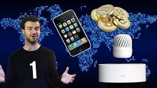 Bliżej Jutra #1 - Lewitujący głośnik, 10 lat iPhone'a, Rekord Bitcoina