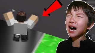 LITTLE KID GOES CRAZY PLAYING SPEED RUN ON ROBLOX! *hilarious compilation*