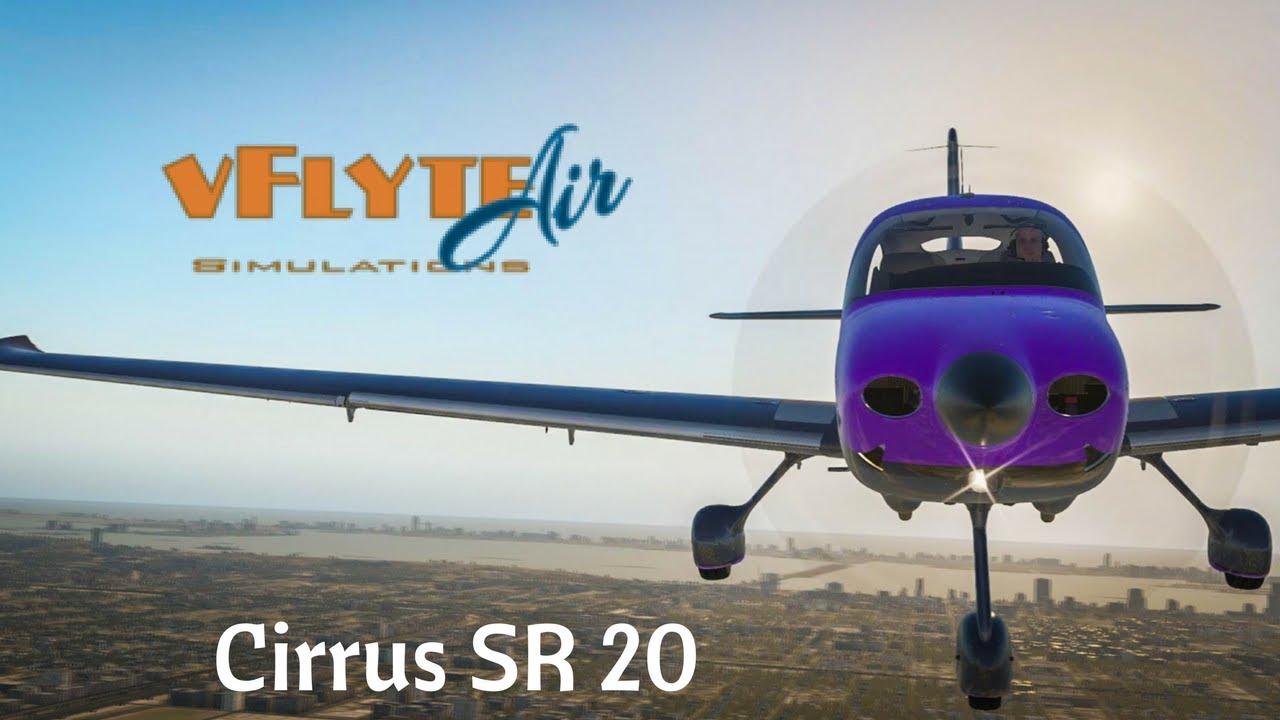 X-Plane 11 - VflyteAir Cirrus SR20 Promo - YouTube