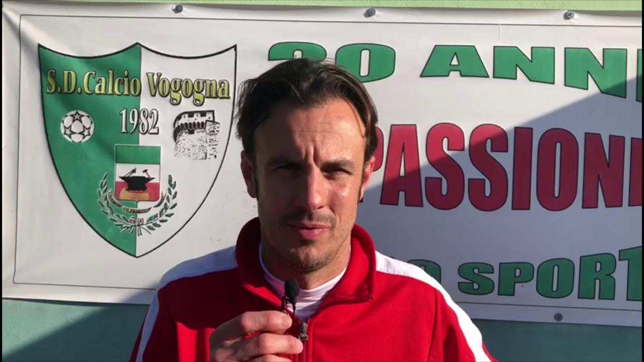 Interviste ai mister dopo Vogogna  Juve Domo 0 a 1 2019
