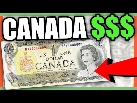 CANADIAN CURRENCY DOLLAR BILLS WORTH MONEY - CANADIAN MONEY TO LOOK FOR!!!
