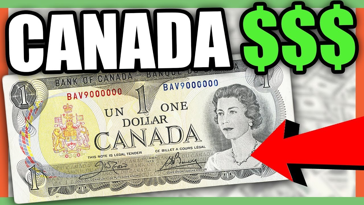 Canadian Currency Dollar Bills Worth Money To Look For