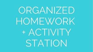 Homework & Activity Station Thumbnail