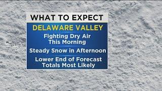 WEATHER ALERT: Snow Arrives Across Philly Region