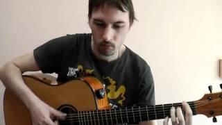 """My heart will go on"" (Titanic) guitar solo cover V.Troshchinkov | уроки гитары Киев и Skype"