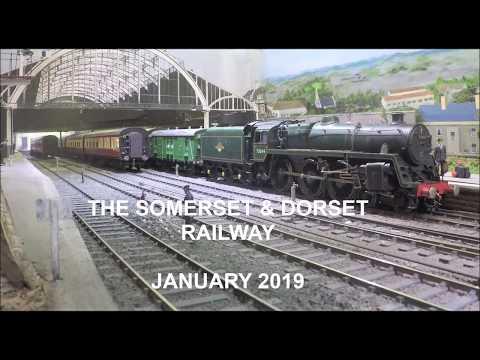 Modelling : Somerset & Dorset Railway Trust