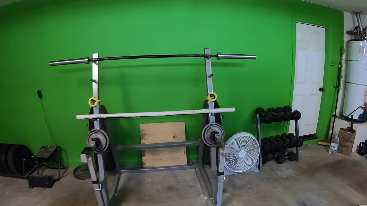 Garage gym before and after and after youtube