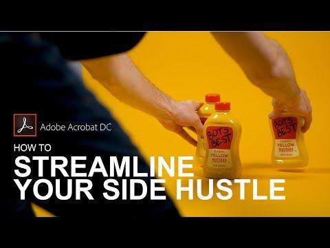 Adobe Acrobat DC | How To Streamline Your Side Hustle Like A Boss