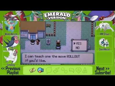 Pokémon Emerald Walkthrough Part 10 - Evolution! (HD)