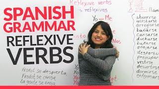 Learn Spanish Grammar   Reflexive Verbs In Spanish