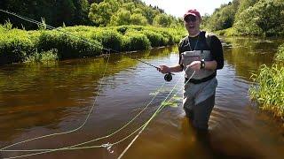Первая рыбалка нахлыстом. Шокирующий трофей.