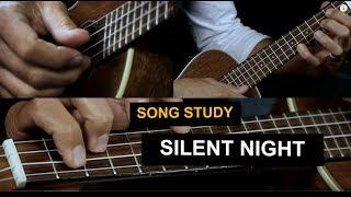 Silent Night  Ukulele Lesson - Chord Melody Solo Uke