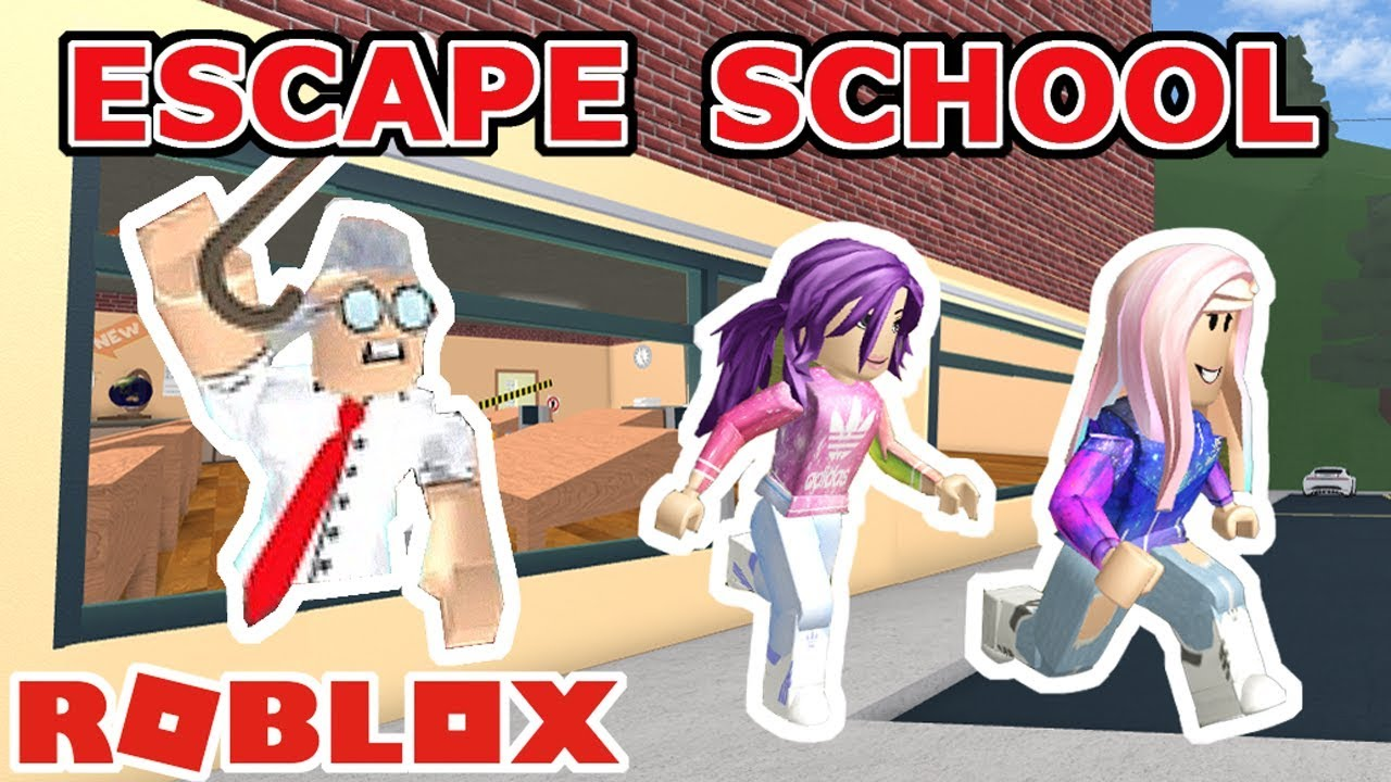 Roblox Escape The School Obby Escape Detention All Stages