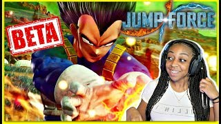 I GOT IN!! | Jump Force Beta Gameplay!!!