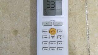 اظهار درجه حراره الغرفه من خلال ريموت التكييف screenshot 3