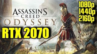 Assassins Creed Odyssey RTX 2070 OC | 1080p - 1440p & (4K) 2160p | FRAME-RATE TEST