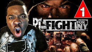Def Jam Fight for NY Gameplay Walkthrough Part 1 - Lets Fight - Lets Play Def Jam Fight for NY