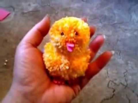 Ostern Kuscheliges Küken Aus Wolle